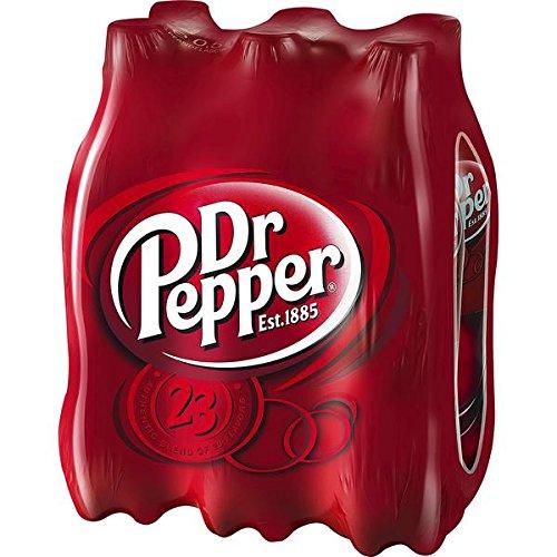 6 Flaschen Dr Pepper Cola Limonade a 500ml 6er-Pack