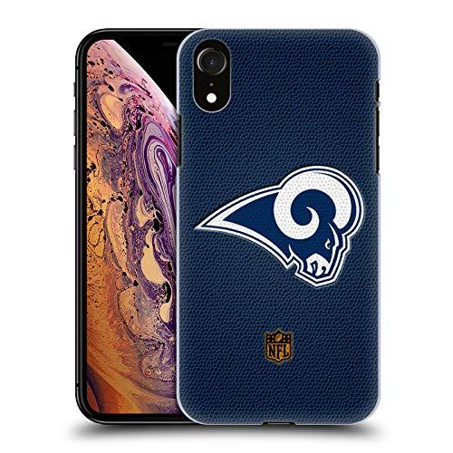 fizielle NFL Fussball Los Angeles Rams Logo Harte Rueckseiten Huelle kompatibel mit iPhone XR ()
