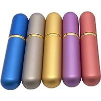 HEALIFTY Tube de parfum 5 de tubes de parfum d'inhalateurs nasaux de bouteille d'Aromatherapy de bouteille d'huile…