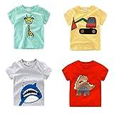 #2: Tshirts For Boys (Pack of 4 Tshirts)