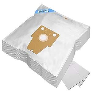 MEGA SET - 20 Sacs Aspirateur Pour BSG82230/09 BOSCH Ergomaxx Professional Pro Hygienic hepa 2200W
