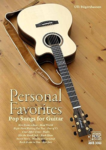 Personal Favorites.: Pop Songs for Guitar