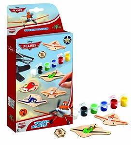 Totum TM600027 - Disney Planes Wooden Magnets (CREA Tus Propios Imanes de Aviones Disney)
