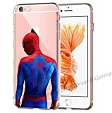 blitz versand germany Spiderman Spinne Comic Schutz Hülle Transparent TPU Cartoon Spiderman from Behind M1 Honor 7X