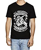 Best Grandpa Tshirts - Caseria Men's Cotton Graphic Printed Half Sleeve T-Shirt Review