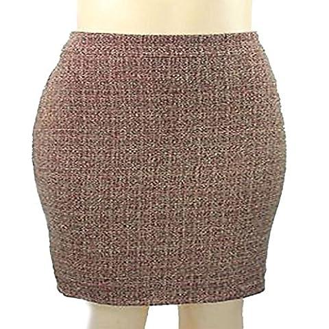 Anne Klein Petite Suit Separate Ivy League Pencil Skirt Brick
