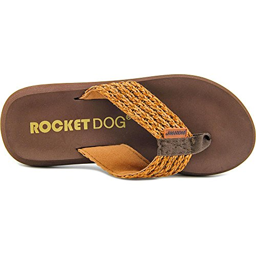 Rocket Dog Spotlight Toile Tongs Tan Woven Weave