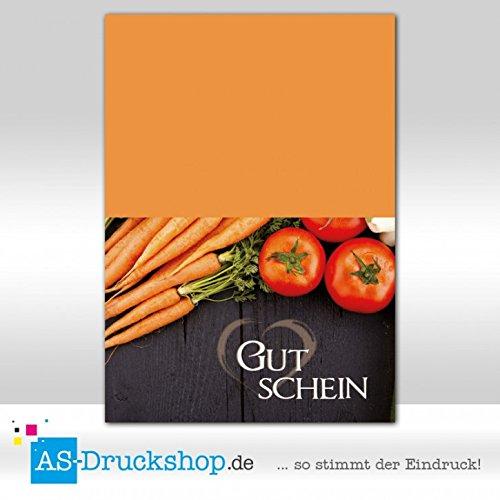 Gutschein Hofladen – Gemüse-Mix / 50 Stück/DIN A6