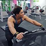 Hydar Strength Gewichtheber-Bandagen, Dual-Funktionalität von Handgelenkbandagen und Handschuhe, gepolstert - 6
