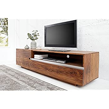 teakgrau Akazie Invicta Interior 36418 TV Lowboard Giant 170cm