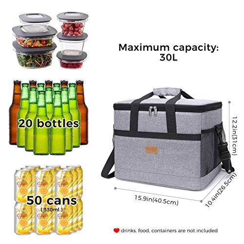 Zoom IMG-1 lifewit 30 litri borsa termica