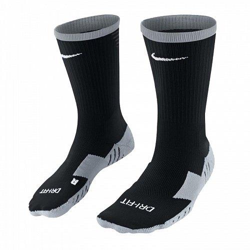 NIKE Herren Socken Team Matchfit Core Crew, 46-50 (Herstellergröße: 46-50), Mehrfarben (noir, gris, blanc) (Kompressions-fußball-socken)