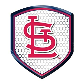 Mlb St. Louis Cardinals Team Shield Automobile Reflector 0