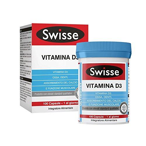 Swisse Vitamina D3 Integratore Alimentare 100 Compresse