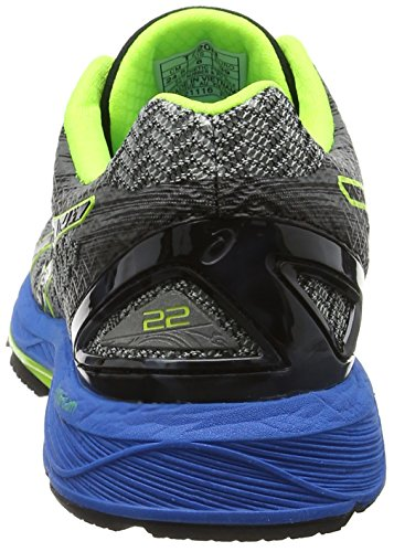 Asics Gel-Ds Trainer 22, Scarpe Running Uomo Grigio (Carbon/black/safety Yellow)