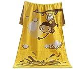 Kinder-und Erwachsenen-Bad-Tuch Strand-Tücher mit Affe-Druck
