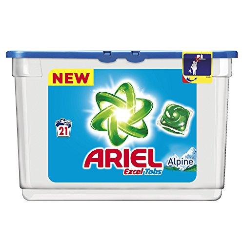 ariel-tablettes-excel-liquides-alpine-lessive-21-lavages-lot-de-2