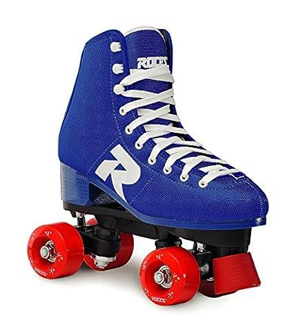 Roces Erwachsene 52 Star Rollerskates Rollschuhe Street, Blau/Weiß, 39