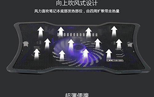 D&X pad di raffreddamento della lampada grande fan staffa X1