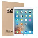 #7: Sandwich New iPad 9.7 in (2018/2017)/iPad Air 2/iPad Pro 9.7 in/iPad Air Tempered Glass Screen Protector with Retina Display - Anti-Scratch - Smudge-Resistant - Easy Installation