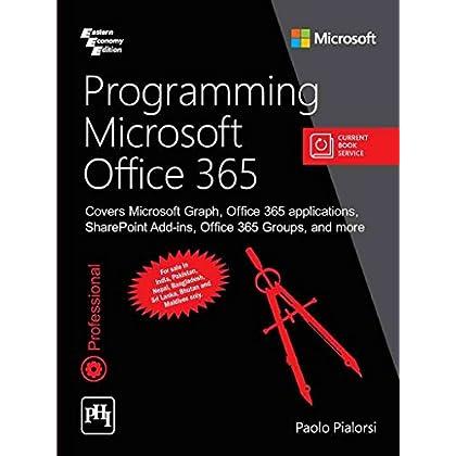 Programming Microsoft Office 365 [Paperback] PIALORSI