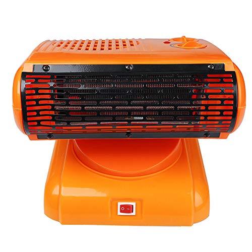 MJJEsports 220V 500W Calentador Eléctrico Ventilador