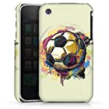 DeinDesign Coque Compatible avec Apple iPhone 3Gs Étui Housse Football Ballon De Football Sport