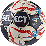 Select Ultimate Replica cl de Balonmano, Color Azul/Blanco/Rojo, tamaño 1