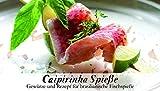 Caipirinha Spieße – 8 Gewürze Set für die brasilianischen Fischspieße (65g) – in einem schönen Holzkästchen – mit Rezept und Einkaufsliste – Geschenkidee für Feinschmecker von Feuer & Glas