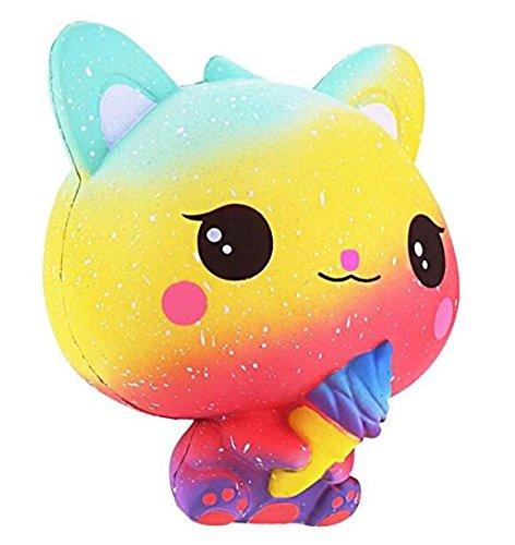 Banboyohi lento rimbalzo, giocattoli di decompressione, profumati,squishy gatto giocattolo