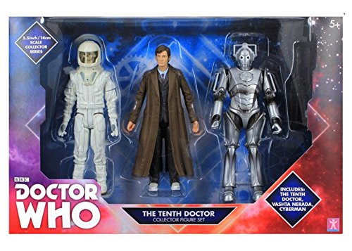 doctor-who-10th-doctor-with-long-coat-vashta-nerada-and-cyberman-figure-collection-by-bbc