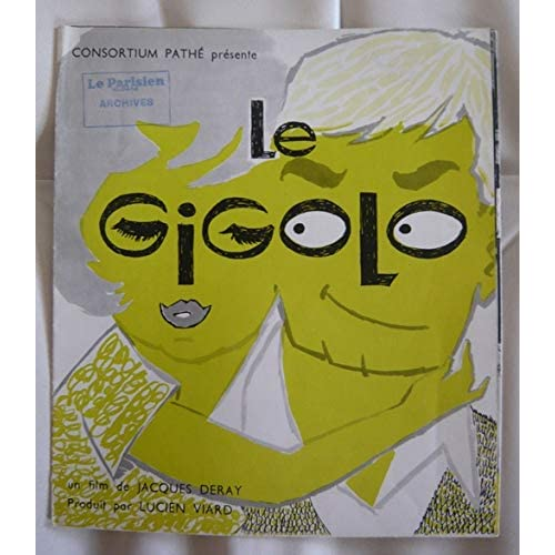 Dossier de presse de Le Gigolo (1960) – 63x48 – Film de Jacques Deray avec Brialy, Valli, Nicaud, Varte – Photos N&B + scénario –Bon état.