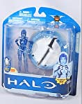 Editorial Review Originally released back in 2008 in our very first series of Halo action figures Cortana returns for the 10th Anniversary of the Halo franchise. This figure features clear blue plastic and a lightup base to represent her holographic ...