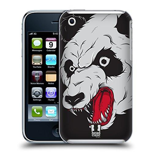 Head Case Designs Licorne Toons Originaux Étui Coque en Gel molle pour Apple iPhone 5 / 5s / SE Panda