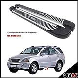 OMAC 4002985 Schwellerrohre Aluminium Trittbretter
