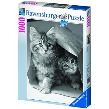 Ravensburger - 19411 - Puzzle Classique - Cache Cache - 1000 Pièces