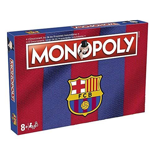 Monopoly FC Barcelona. Juego Mesa - Versión bilingüe