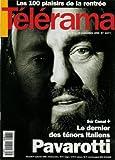 Télérama - n°2277 - 01/09/1993 - Luchiano Pavarotti : le dernier des ténors italiens...