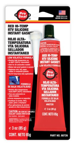 mperatur RTV Instant Silikondichtung, rot ()