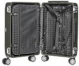 Packenger Alu Reisekoffer mit 33 Liter Fassungsvermögen in der Farbe Champagne,  46x32x21cm, Zwei TSA-Schlösser - 2