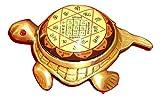 Pooja Art Gallery- Kuber Yantra / Shree Kuber Yantra on Panchdhatu Tortoise