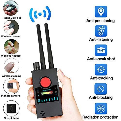 WXH Anti-Spy Detektor RF-Signaldetektor GSM-Gerät Finder Funkscanner GPS Drahtlose Alarmsignal Scanner Versteckte Kamera HF-Signal