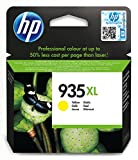 HP 935XL - Cartucho de tinta Original HP 935 XL de álta capacidad Amarillo para HP OfficeJet Pro 6230, 6830