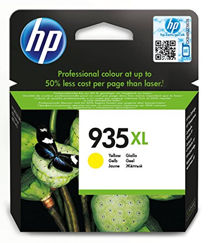 HP 935XL - Cartucho de tinta original de alta capacidad, color amarillo