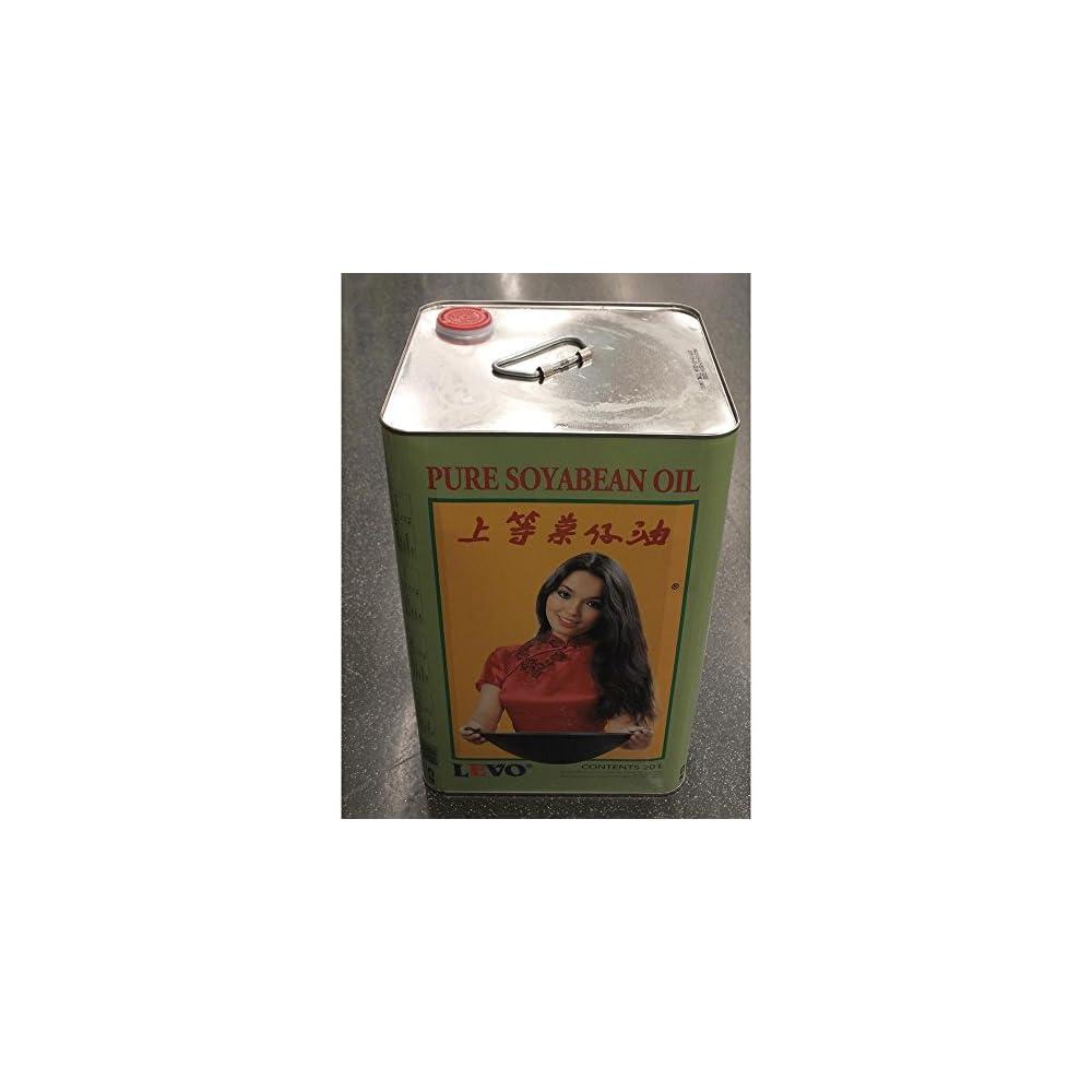 Levo Reines Sojal 20l Kanister Pure Soyabean Oil Gastronomie