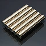 EsportsMJJ 50Pcs 6 mm X 4 mm N50 Starke Seltene Erde Ndfeb Neodym-Disc-Magnete
