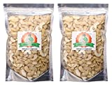#3: Grandma Agro 2 Piece Cashew Nuts (Kaju), 500 Grams (250g+ 250g) (Pack of 2)