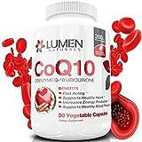 CoQ10 200 mg - Integratore Alimentare a Base di Coenzima Q10 Ubiquinone, ad Azione Rapida extra forte, Efficace per Favorire la Salute del Cuore, l'energia cellulare, la Resistenza all'affaticamento - 30 capsule