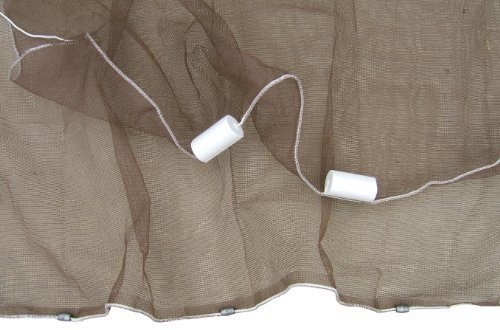 Ranger 1/8-inch Mesh Minnow Seine Net (4-feet x 12-feet) by Ranger Nets (Minnow Net)