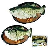Singender Fisch Billy Bass Retro Wandplakette Tanzend Selten 80er